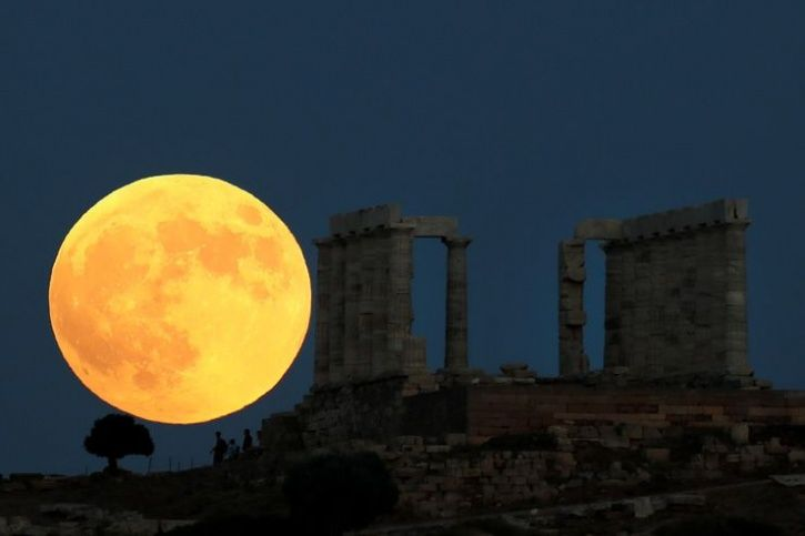 Lunar eclips