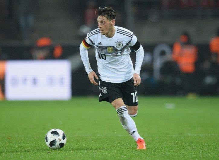 Mesut Ozil left the German team due to beig from a immigrant family
