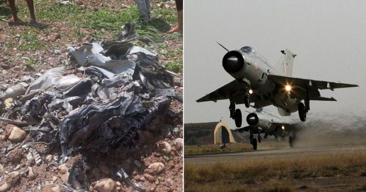 MiG-21 Fighter Plane Crashes