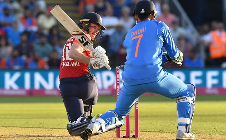MS Dhoni First Wicketkeeper To Take 50 Catches In T20Is