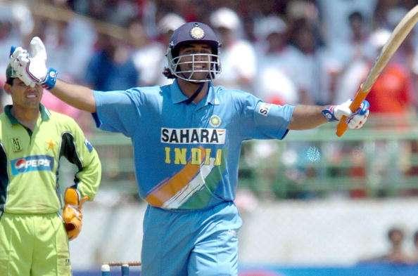 MS Dhoni made 148 vs Pakistan