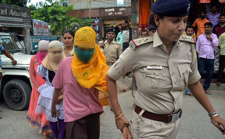 muzaffarpur govt home premises dug up to look for victim body