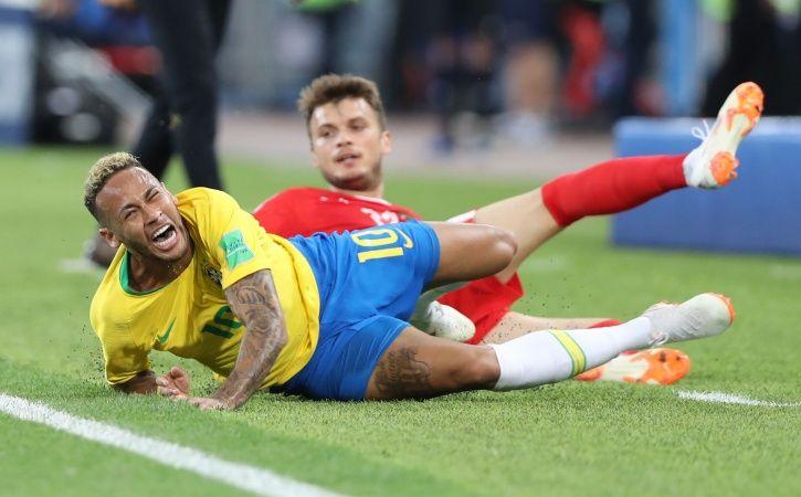 Neymar has become the butt of jokes online