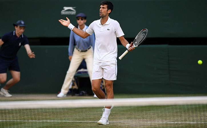 Novak Djokovic Is Not Happy With Crowd Whistling And Coughing