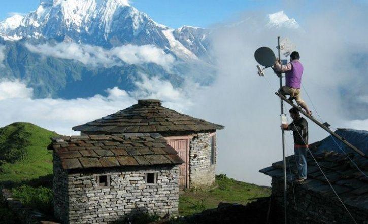 Online tibet weather station