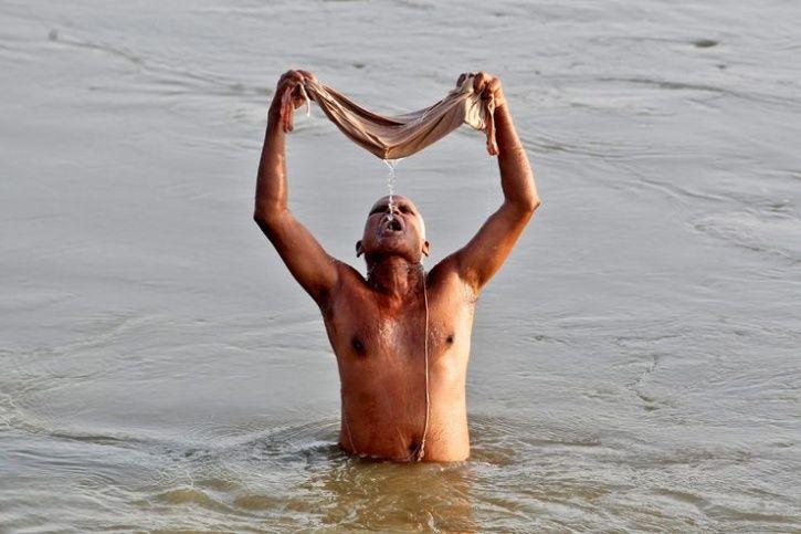 Polluted Ganga Water