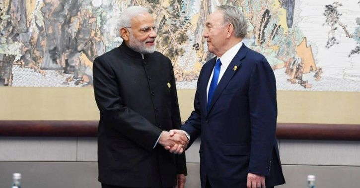 Prime Minister Narendra Modi and Kazakhstan