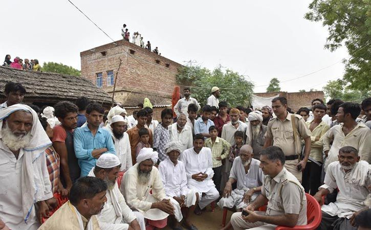 Rajasthan Cops First Took Cows To Shelter