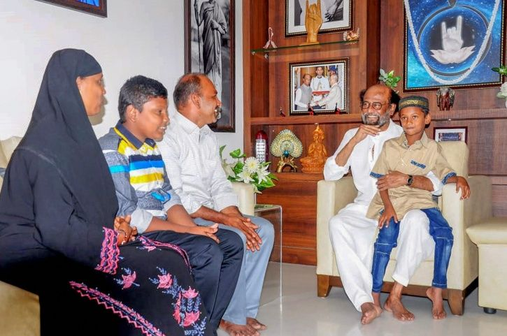 Rajinikanth Praises 7-Year-Old Boy's Honesty For Returning Rs 50000, Will Sponsor His Education