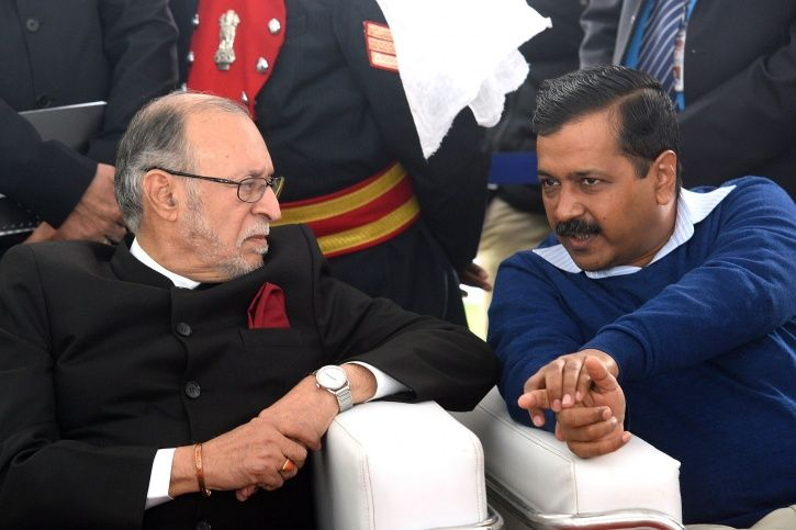 Relief For AAP And Kejriwal In Delhi Power Tussle