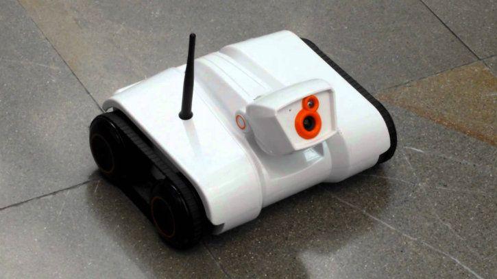 robot surveillance who AI will remove security guard