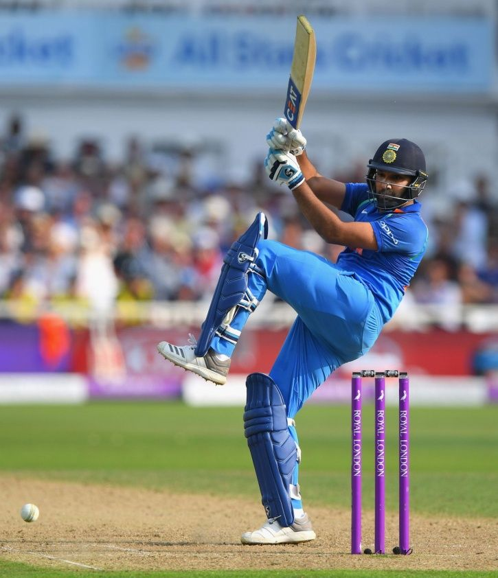 Rohit Sharma scored a hundred