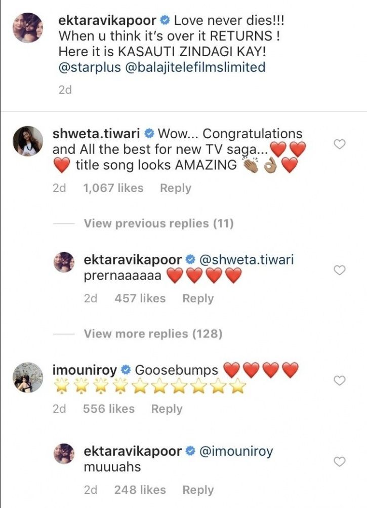 Ronit Roy, Shweta Tiwari & Urvashi Dholakia Can't Contain Excitement For Kasautii Zindagii Kay 2