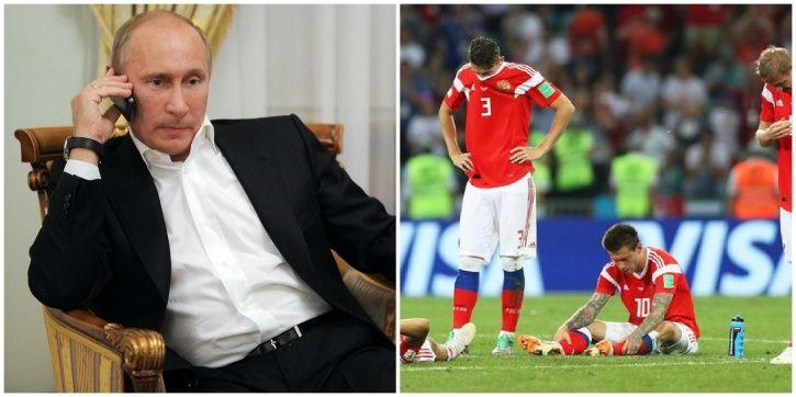 Russia lost to Croatia on penalties