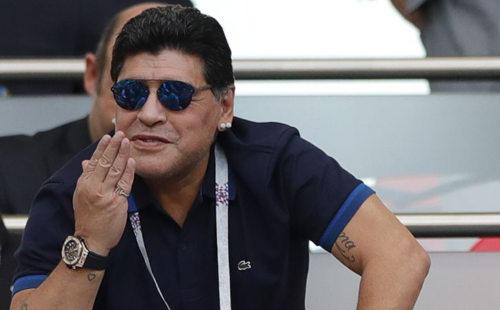Sourav Ganguly Favourite Diego Maradona
