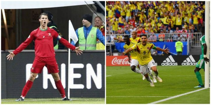 The best goal celebrations of FIFA World Cup 2018