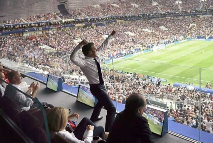 These photos caught the eye at the FIFA World Cup