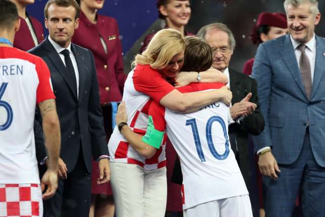 These photos have caught the eye at FIFA World Cup 2018