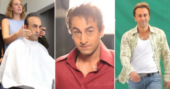 This BTS Video Shows Ranbir Kapoor Tried 13 Looks Before Transforming Into Munna Bhai For 'Sanju'