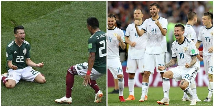 This FIFA World Cup has seen many upsets