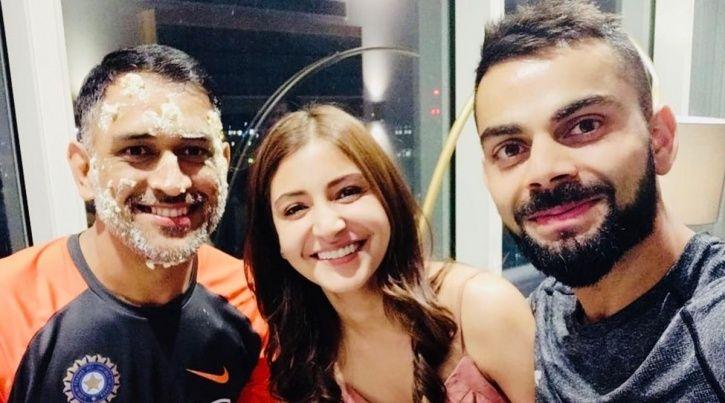 This Pic Of Anushka Sharma Angrily Staring At Innocent Virat Kohli Has Become A Butt Of Jokes