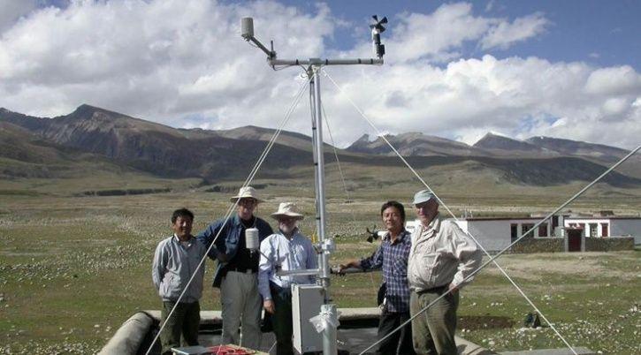 tibet weather station