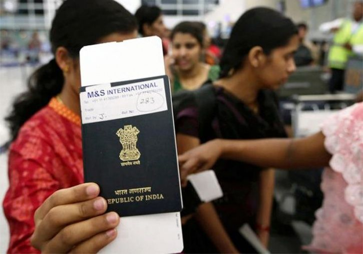 UP cop hugged her during passport check