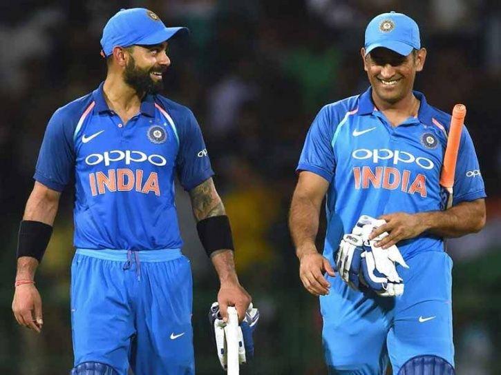 Virat Kohli and MS Dhoni form the backbone of the side