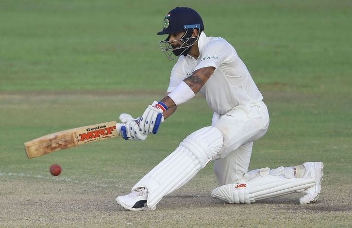 Virat Kohli did not have a good outing in 2014