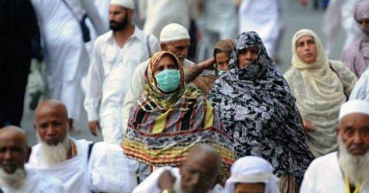 W women pilgrims Hajj