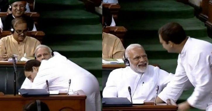 Who Did It Better- Rahul Gandhi Or Priya Warrier? Rahul's Wink Takes Twitter By Storm
