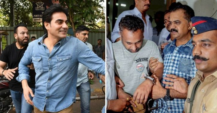 A photo of Arbaaz Khan who is getting trolled after he admitted to betting in IPL and cricket match.