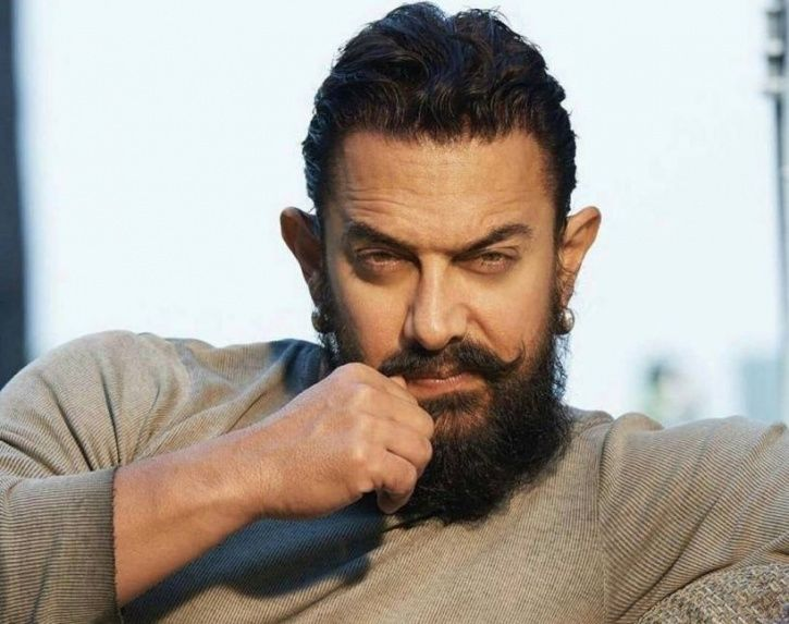 A picture of Aamir Khan.