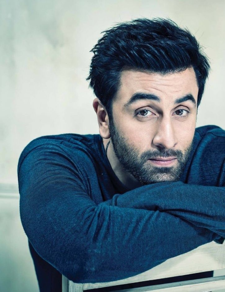 A picture of actor Ranbir Kapoor.