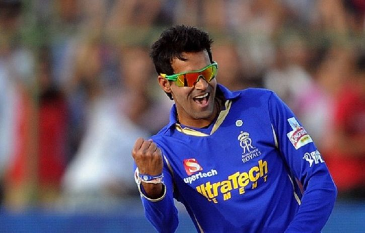 A picture of Ajit Chandila was allegedly involved in IPL betting and spot fixing scam of 2013.