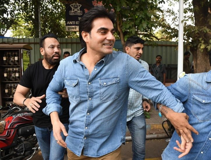 A picture of Arbaaz Khan who has confessed to betting in IPL and other cricket matches.
