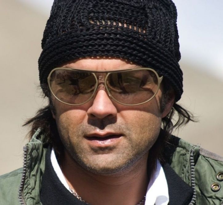A picture of Bobby Deol.