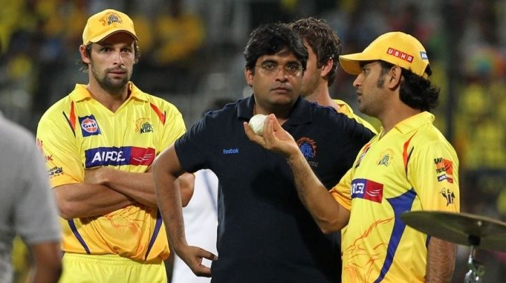 A picture of Gurunath Meiyappan who was involved in IPL betting and spot-fixing scam of 2013.