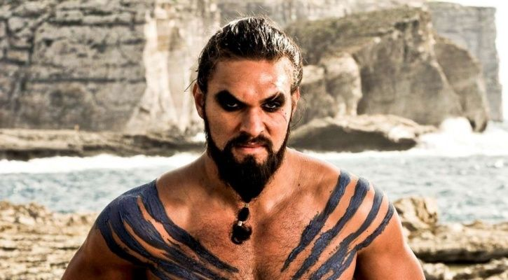 A picture of Khal drogo from Game Of Thrones