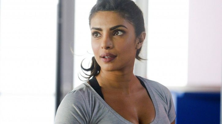 A picture of Priyanka Chopra from Quantico.