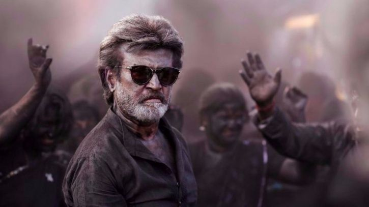 A picture of Rajinikanth from his film Kaala.