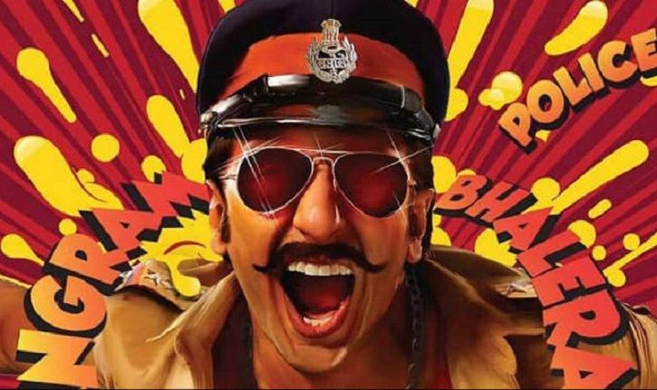 A picture of Ranveer Singh from Simmba.