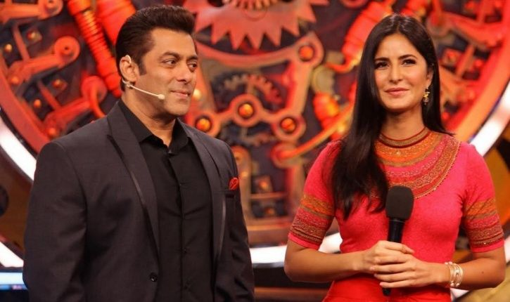 A picture of Salman Khan and Katrina Kaif who will co-host Bigg Boss 12.