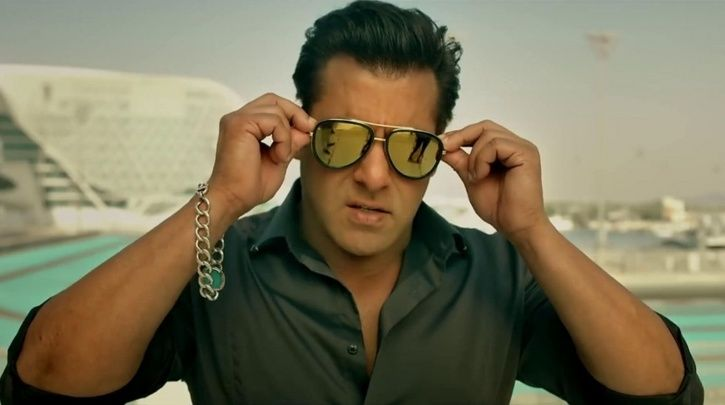 A picture of Salman Khan from Race 3.