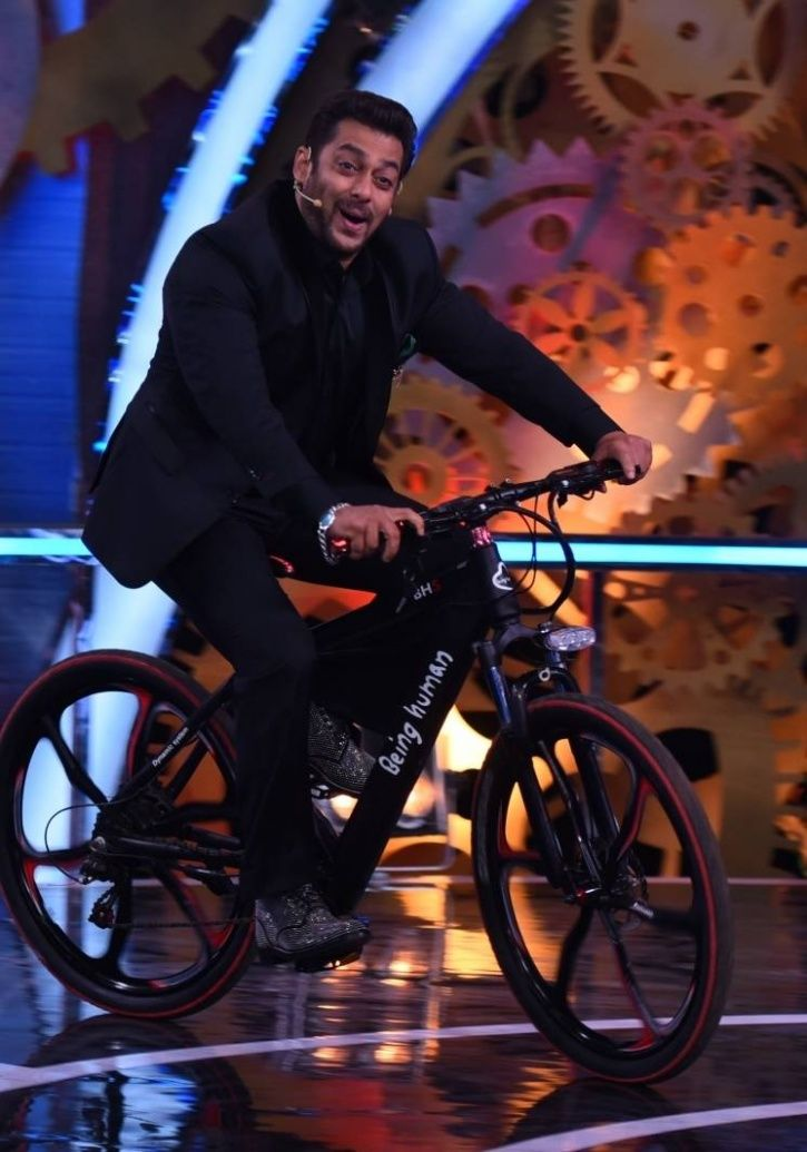 A picture of Salman Khan who will host Bigg Boss 12.