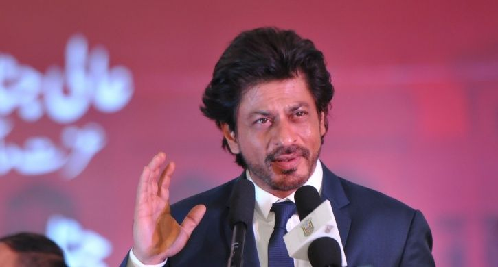 A picture of Shah Rukh Khan.