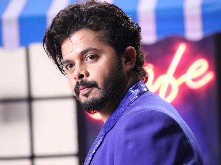A picture of Sreesanth who was allegedly involved in IPL betting and spot fixing scam in 2013.
