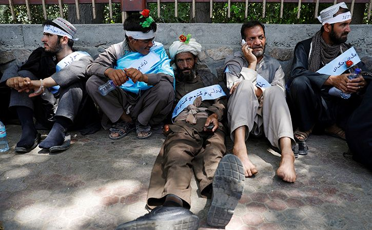 Afghans Tired Of War Say Exhausted Peace Marchers In Kabul