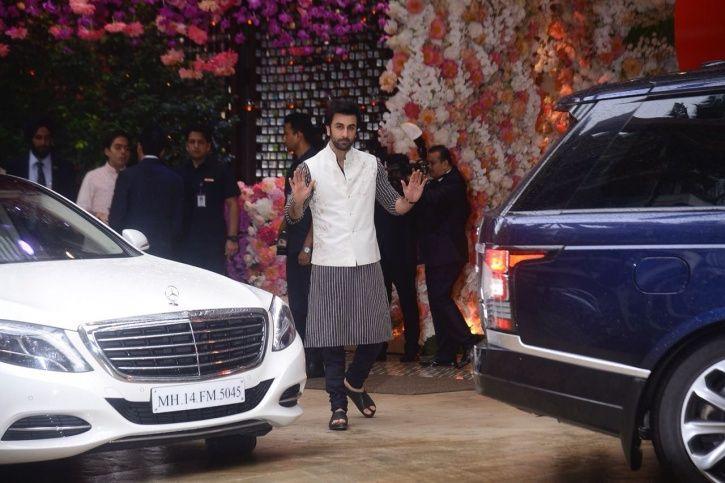 Akash Ambani and Shloka Mehta's pre-engagement party2