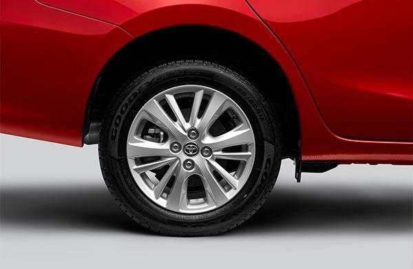 All 4 disc brakes |Toyota